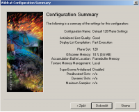 Configuration Summary