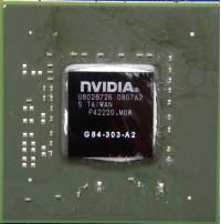 NVIDIA G84 GPU